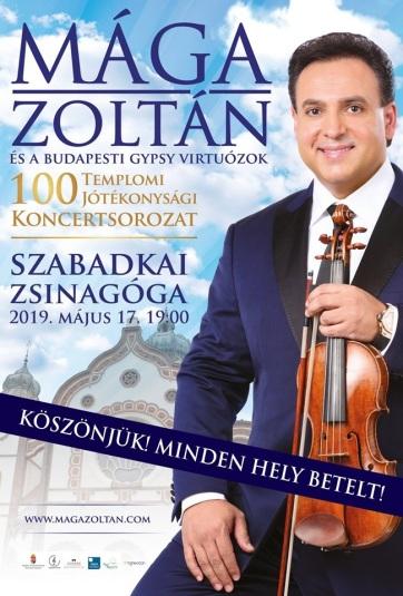 Pénteken a szabadkai zsinagógában lép fel Mága Zoltán hegedűművész - A cikkhez tartozó kép