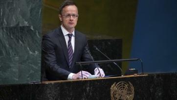 A migránskártyák ellen emelt szót Szijjártó Péter az ENSZ-ben - A cikkhez tartozó kép