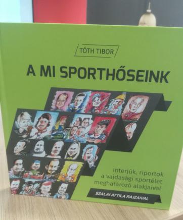 Belgrádban bemutatták Tóth Tibor A mi sporthőseink című könyvét - A cikkhez tartozó kép