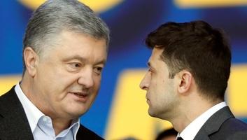 Porosenko sikeres elnökséget kívánt Zelenszkijnek - illusztráció