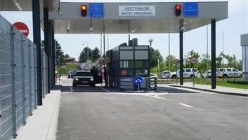 Bački Vinogradi: Ne radi granični prelaz - illusztráció