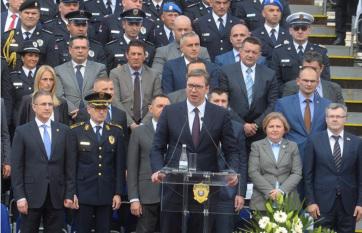 Napi fotó: Aleksandar Vučić szerb államfő ma a...