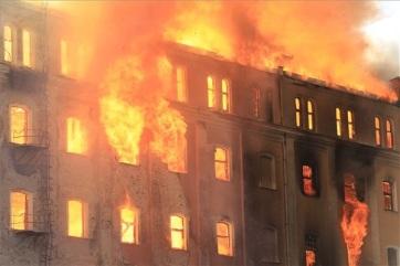 Leégett az egykori István-malom épülete Békéscsabán - A cikkhez tartozó kép