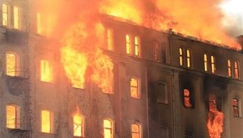 Leégett az egykori István-malom épülete Békéscsabán - illusztráció