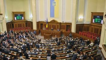 Az ukrán parlament napirendre sem tűzte az elnök törvényjavaslatait - illusztráció