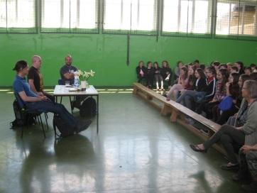 Nyuca: Rendhagyó irodalomórán a muzslyai iskolában - A cikkhez tartozó kép