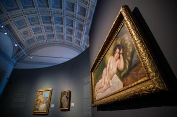 Renoir aktját péntektől kamarakiállításon mutatják be a Szépművészeti Múzeumban - A cikkhez tartozó kép