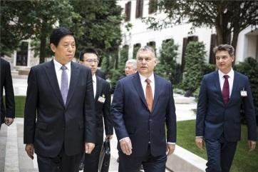 Orbán Viktor tanácskozott a kínai népi gyűlés elnökével - A cikkhez tartozó kép