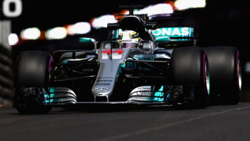 F1: Hamilton volt a leggyorsabb Monacóban - A cikkhez tartozó kép