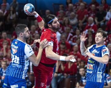 Kézilabda: Tizenegy góllal győzte le a Veszprém a Szegedet - A cikkhez tartozó kép