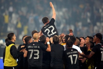 Labdarúgás: A Partizan nyerte a Szerb Kupát - A cikkhez tartozó kép