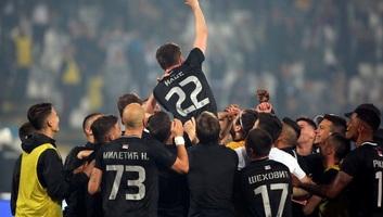 Labdarúgás: A Partizan nyerte a Szerb Kupát - illusztráció