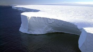 Kritikus mértékben olvad az Antarktisz jege - illusztráció