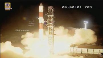 Radaros műhold Indiából - A cikkhez tartozó kép