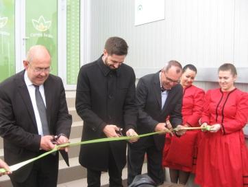 Ünnepélyesen átadták a muzslyai Császárkert Kft. új üzemét, bejelentették a Prosperitati Alapítvány új pályázatait - A cikkhez tartozó kép