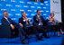 Hashima Thaci, Milo Đukanović és Aleksandar Vučić a panelbeszélgetésen - miniatűr változat