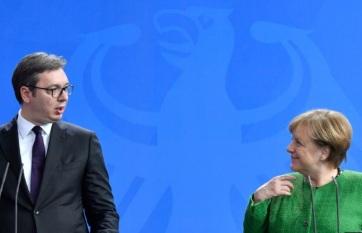 Vučić és Merkel telefonbeszélgetése: Szerbia továbbra is a párbeszéd híve - A cikkhez tartozó kép