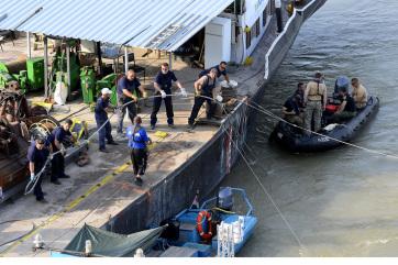 Hajómérnök: több tényező is nehezíti a Hableány kiemelését - A cikkhez tartozó kép