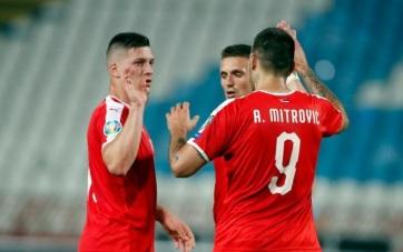 Labdarúgás: Szerbia legyőzte Litvániát - A cikkhez tartozó kép