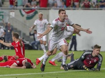 Labdarúgás: Magyar győzelem Wales ellen - A cikkhez tartozó kép