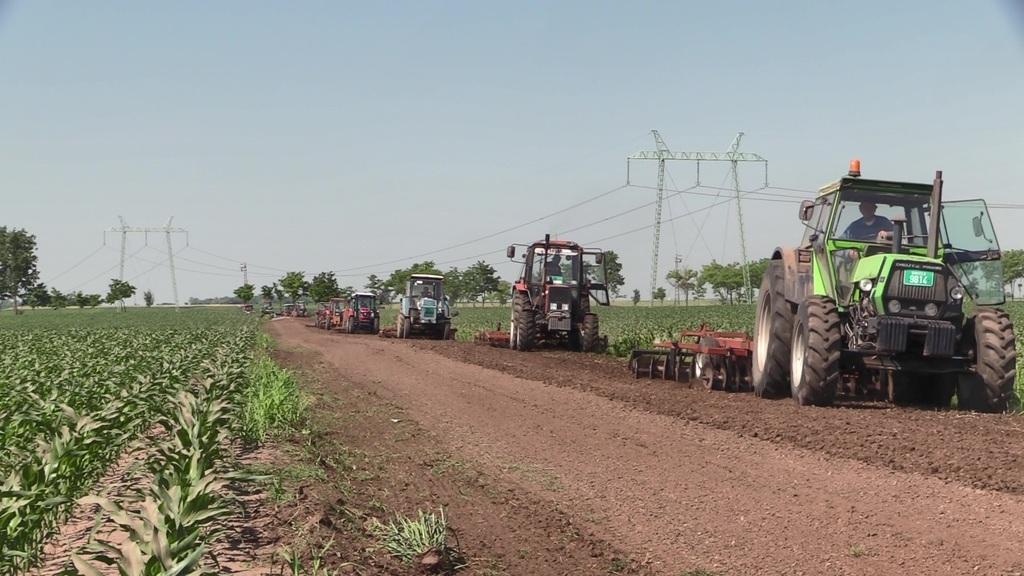 Akcióban a gazdák