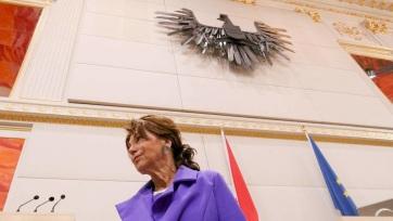 Bemutatkozott a parlamentben az átmeneti osztrák kormány - A cikkhez tartozó kép