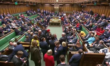 Elvetette a londoni alsóház a megállapodás nélküli Brexitet tiltó törvényalkotási tervet - A cikkhez tartozó kép