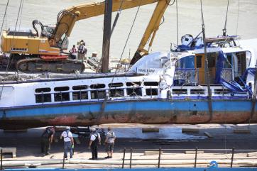 A dunai hajóbaleset újabb áldozatait azonosítottak - A cikkhez tartozó kép