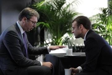 Július derekán Belgrádba látogat Emanuel Macron - A cikkhez tartozó kép