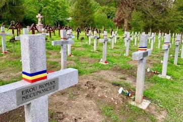 Úzvölgyi katonatemető: Bukarest szerint 11 román katona nyugszik a sírkertben - A cikkhez tartozó kép