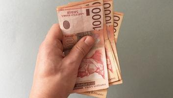 A szerbiai háztartások havi bevétele 5,4 százalékkal, kiadása pedig 3,8 százalékkal nőtt - illusztráció