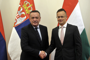 Gázvezeték-építési együttműködésről írt alá megállapodást Magyarország és Szerbia - A cikkhez tartozó kép