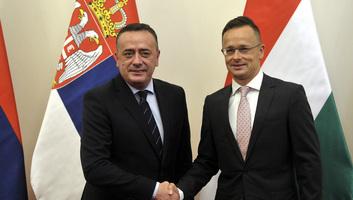Gázvezeték-építési együttműködésről írt alá megállapodást Magyarország és Szerbia - illusztráció