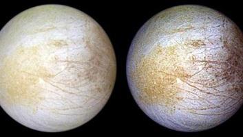Konyhasó lehet a Jupiter Európé nevű holdja felszínén - illusztráció
