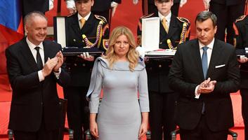 Beiktatták hivatalába Szlovákia új köztársasági elnökét - illusztráció