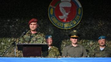 Szerb-orosz-fehérorosz hadgyakorlat kezdődött Pancsován - A cikkhez tartozó kép
