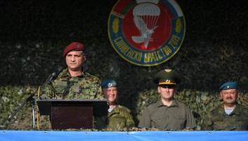 Szerb-orosz-fehérorosz hadgyakorlat kezdődött Pancsován - illusztráció