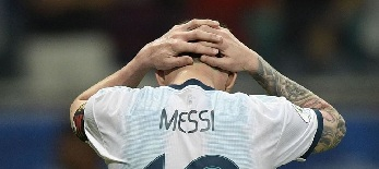 Copa América: Vereséggel kezdtek az argentinok - illusztráció