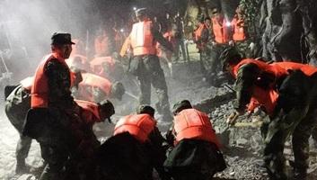 Délnyugat-Kínában 6-os erősségű földrengés történt - illusztráció