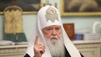 Ukrán ortodox egyház: Filaret pátriárkát megfosztották a kijevi egyházmegye irányításától - illusztráció