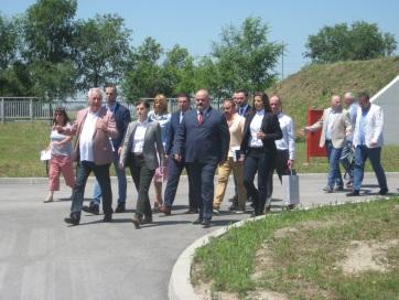 Az ivóvíz ügyében tájékozódott Nagybecskereken Ana Brnabić - A cikkhez tartozó kép