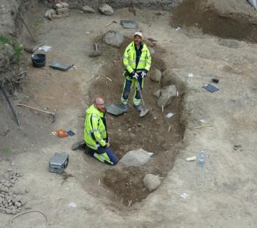 Viking temetési hajókra bukkantak régészek Svédországban - A cikkhez tartozó kép