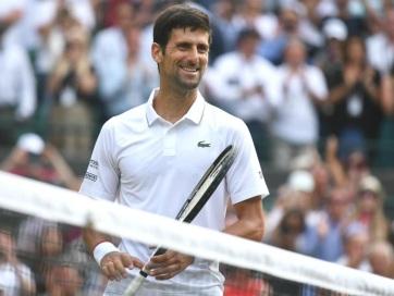 Tenisz: Đoković negyeddöntős Wimbledonban - A cikkhez tartozó kép
