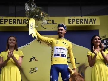 Tour de France: Francia versenyzőn a sárga trikó - A cikkhez tartozó kép