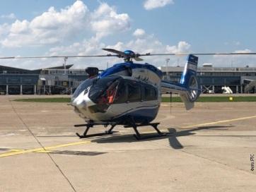 Megérkeztek Belgrádba a rendőrség új helikopterei - A cikkhez tartozó kép