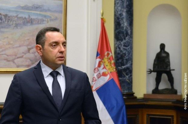 Aleksandar Vulin védelmi miniszter