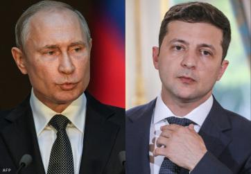 Telefonon beszélt Putyin és Zelenszkij a délkelet-ukrajnai rendezésről - A cikkhez tartozó kép