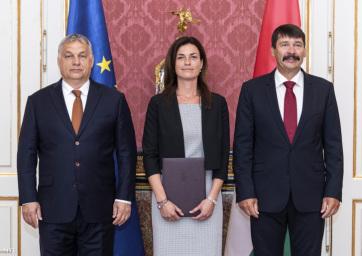 Kinevezték Magyarország második női igazságügyi miniszterét - A cikkhez tartozó kép