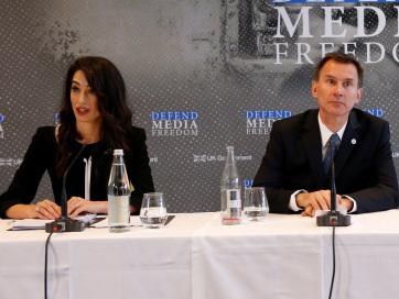 Nemzetközi médiaszabadság-védelmi jogi testület létrehozásáról döntöttek a londoni médiaszabadság-konferencián - A cikkhez tartozó kép
