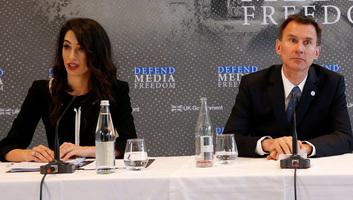 Nemzetközi médiaszabadság-védelmi jogi testület létrehozásáról döntöttek a londoni médiaszabadság-konferencián - illusztráció